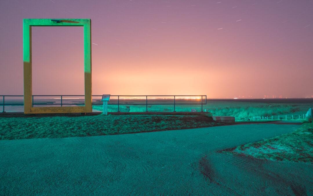 Eine kalte Nacht an der Nordsee… Ausblick auf das neue Projekt.