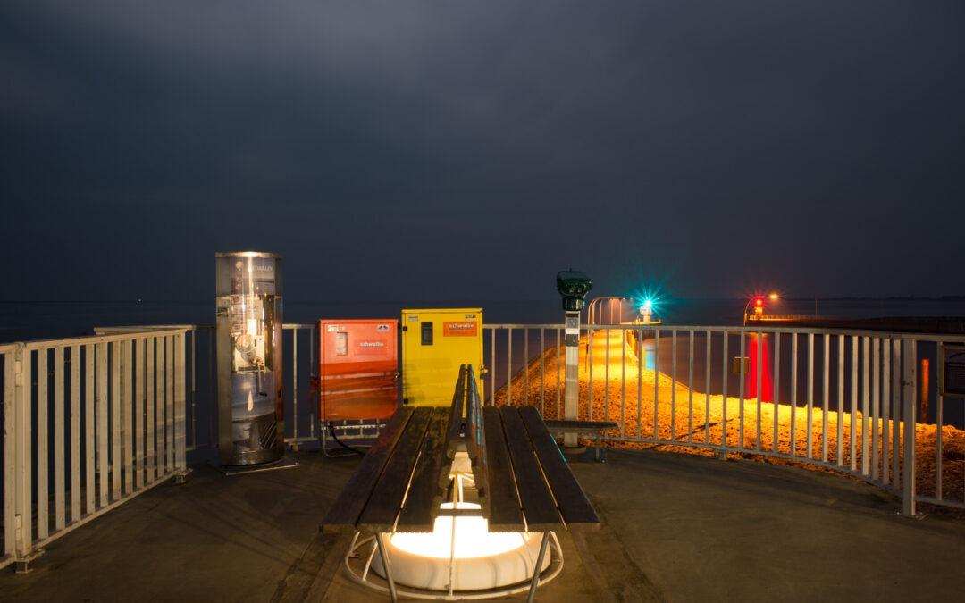 Sicht und Standort: friesische Nachtreise