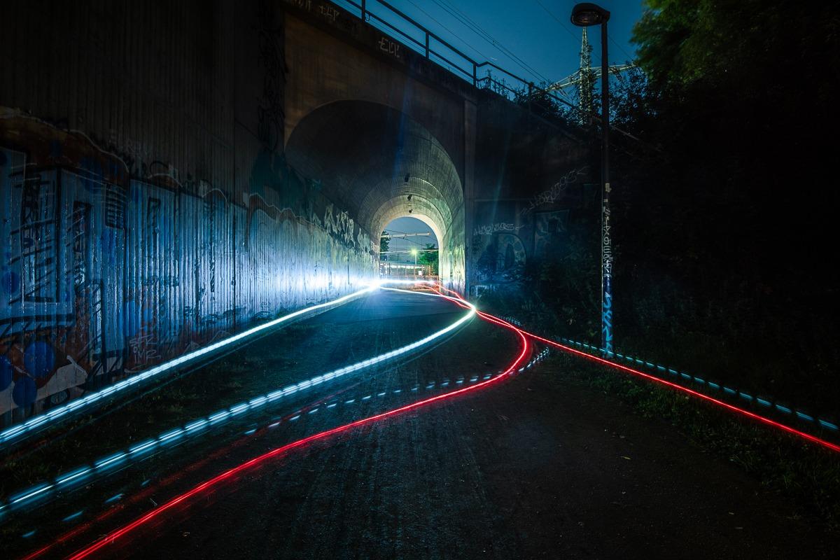 """Tunnel unter Südbrücke, aus der Serie """"Im Bauch der Stadt"""", 2019"""