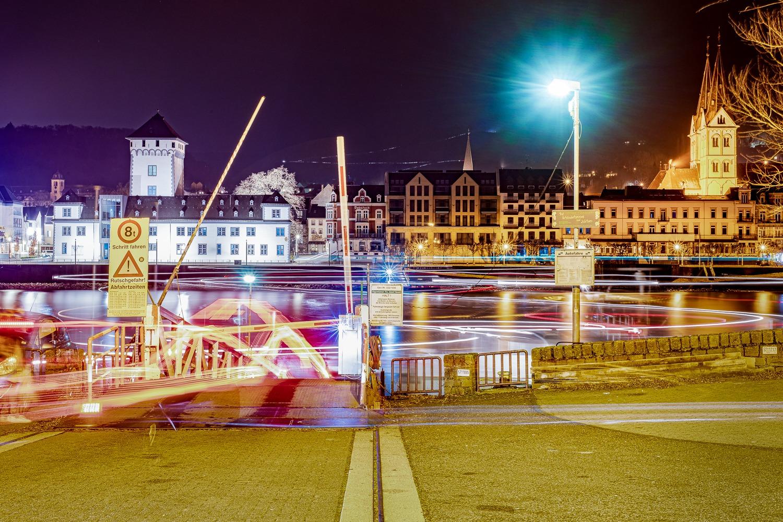 """Boppard -- Filsen, aus der Serie """"Tanz der Fähren"""", 2020/2021"""